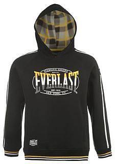 Everlast Polar Over The Head Hoody Mens - Black