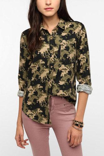 BDG Flannel Button-Down Shirt