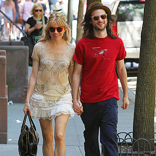 Sienna Miller and Tom Sturridge Take a Couple's Stroll
