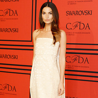 Lily Aldridge Dress at CFDA Awards 2013