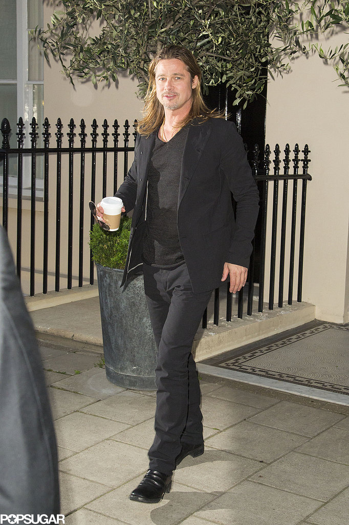 Brad Pitt headed to the premiere.