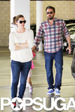 Jennifer Garner and Ben Affleck Wrap Up a Busy Week at Home