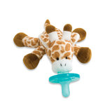 This giraffe pacifier ($15) is cute, cuddly, and hard to lose!