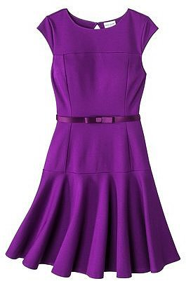 Kate Young For Target® Drop Waist Dress -Purple