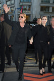 Brad Pitt and Angelina Jolie walked hand in hand to the premiere.