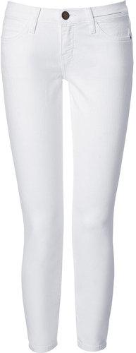 Current/Elliott The Stiletto White 7/8 Jeans