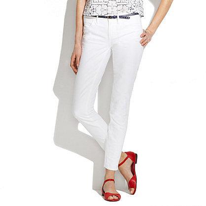 Skinny skinny ankle jeans in optic white