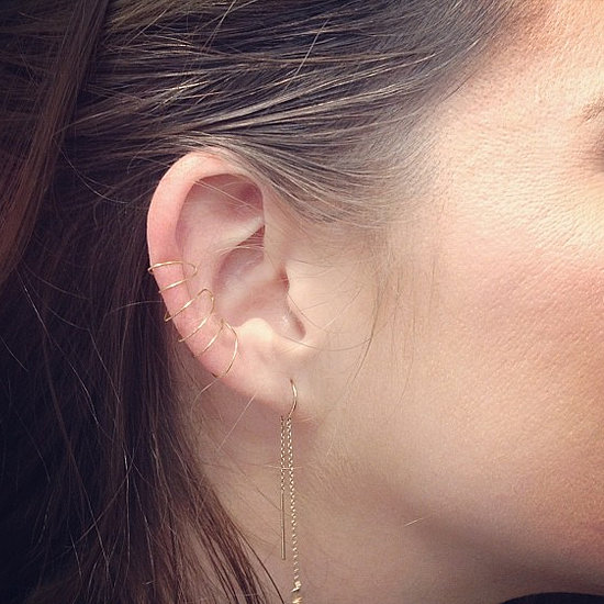 DIY: Gold Ear Cuff