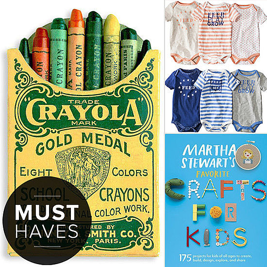 POPSUGAR Moms will have moms, tots, and soon-to-be moms packing on creative, and even retro, fun during the month of June. Our editors have hand-selected the best baby gear, crafts, prenatal vitamins, and more, so check out what's in store for the little ones this season!