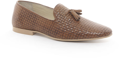 ASOS Loafers With Weave Effect