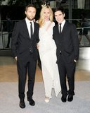 Lauren Santo Domingo with the Proenza Schouler boys, Jack McCollough and Lazaro Hernandez. Source: Billy Farrell/BFAnyc.com