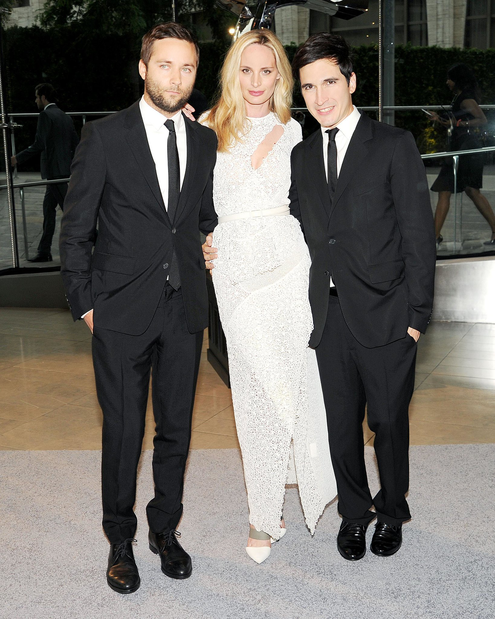 Lauren Santo Domingo with the Proenza Schouler boy