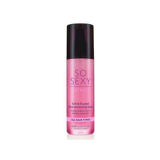 Bombshell waves are within reach with Victoria's Secret So Sexy Wave-Enhancing Spray ($10).