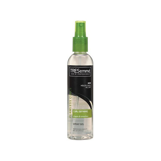 Humidity-resistant, Tresemmé Flawless Curls Spray Gel ($5) is also sans alcohol, so your strands won't dry out.