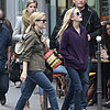 Reese Witherspoon in Paris With Daughter Ava