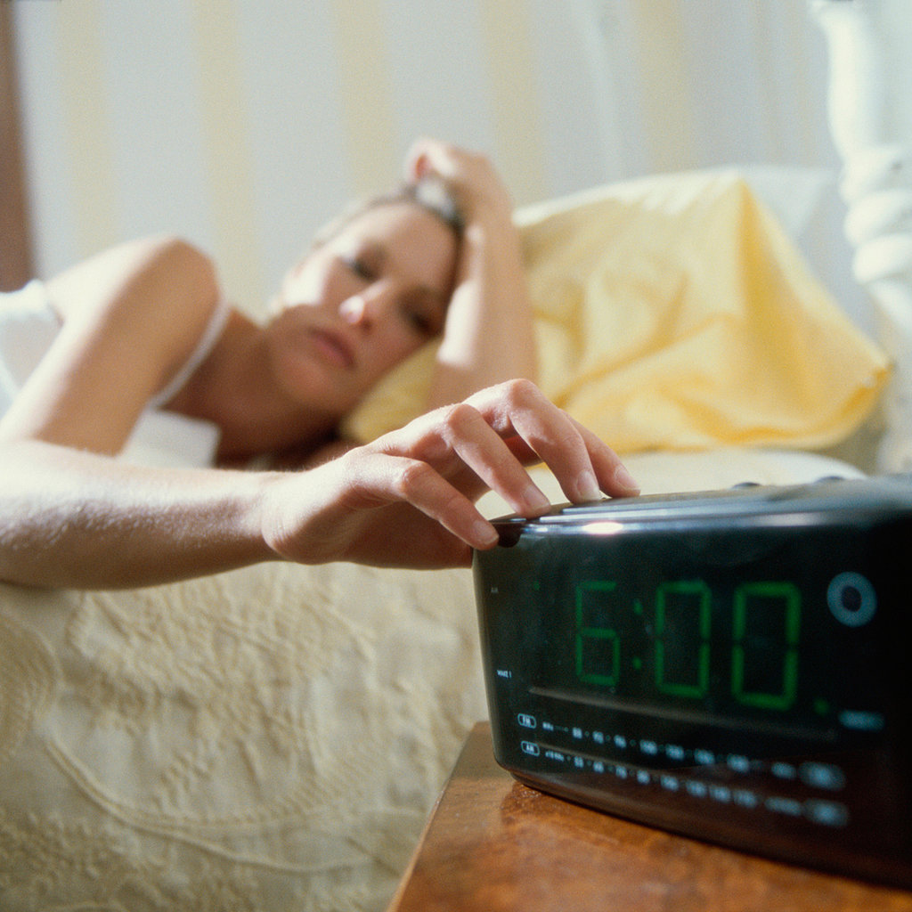 You Hit the Snooze Button Eight Times