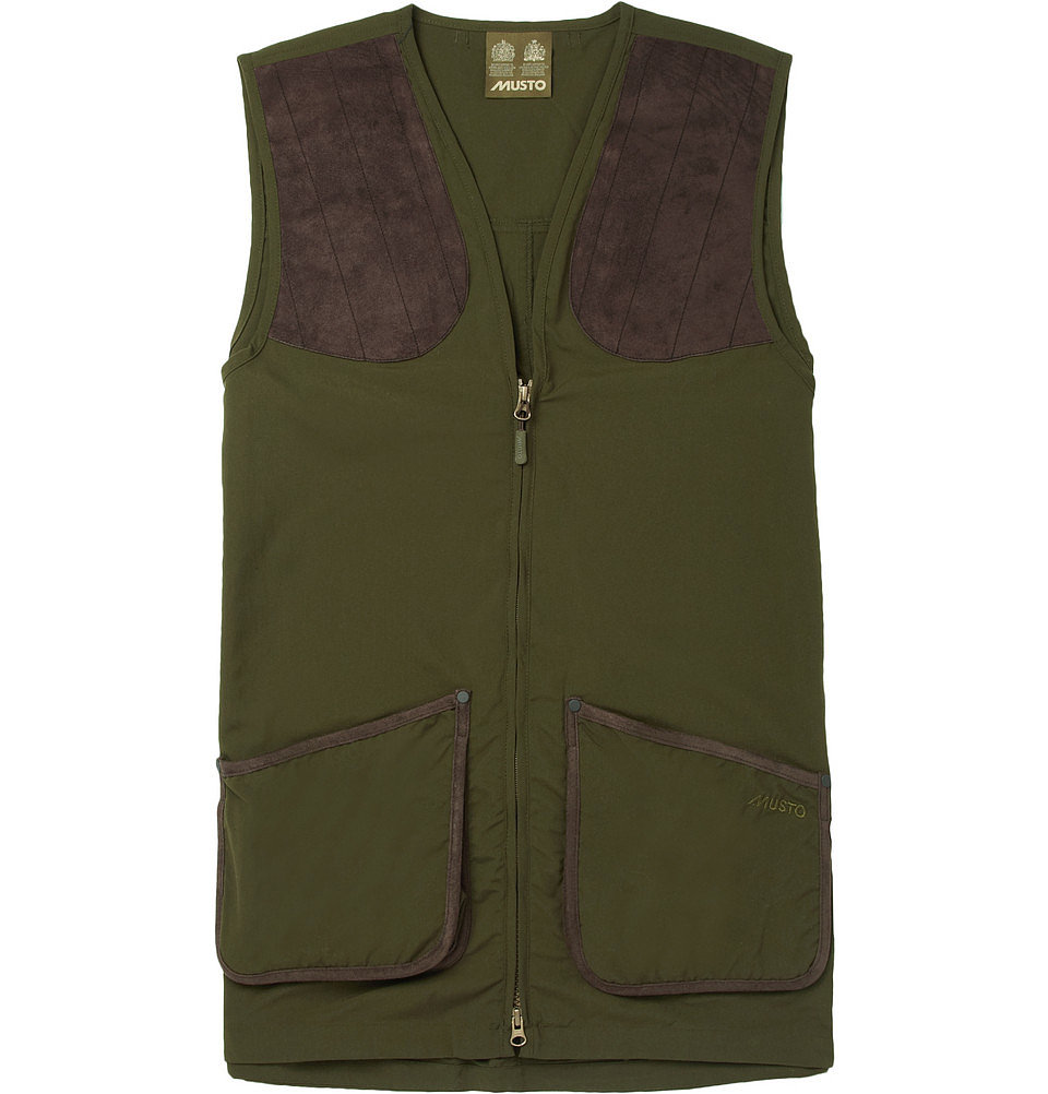 The outdoorsy dad will appreciate the nod to a hunting hobby with this sleek, fashion-approved clay shooting vest ($165).