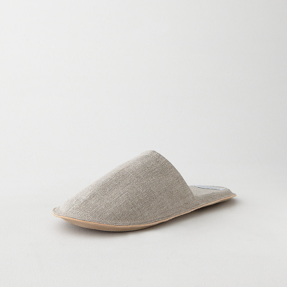 This Father's Day, pour him a cup of coffee, bring over the morning paper, and present him with a pair of simple linen slippers from Steven Alan ($42).