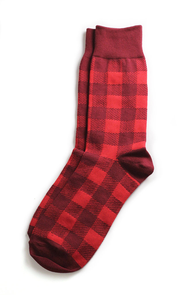 The playful dad will appreciate an opportunity to have fun with his socks. Here's betting the lumberjack print of this Richer Poorer pair ($12) will delight him.