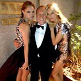 Michael Kors posed with his lovely CFDA Fashion Awards dates, Cody Horn and Karolina Kurkova. Source: Instagram user michaelkors