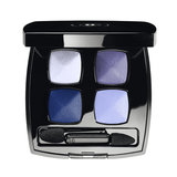 Wearing a little blue eye shadow at the altar can lend just the right amount of surprise to your wedding look. The Chanel Quadra Eye Shadow in Lagons ($59) has all the shades you'll need, from a frosty blue to indigo.