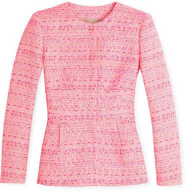 Giambattista Valli Hot Pink Tweed Jacket