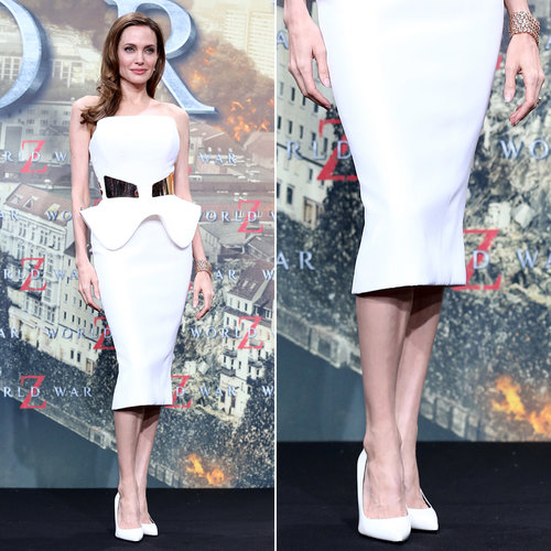 White Pump Shoes | Celebrity Pictures