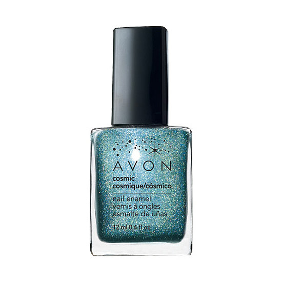 Avon Cosmic Nail Enamel in Celestial ($6) is a scintillating shade of blue that has us dreaming of sand between our toes and cool ocean waves.