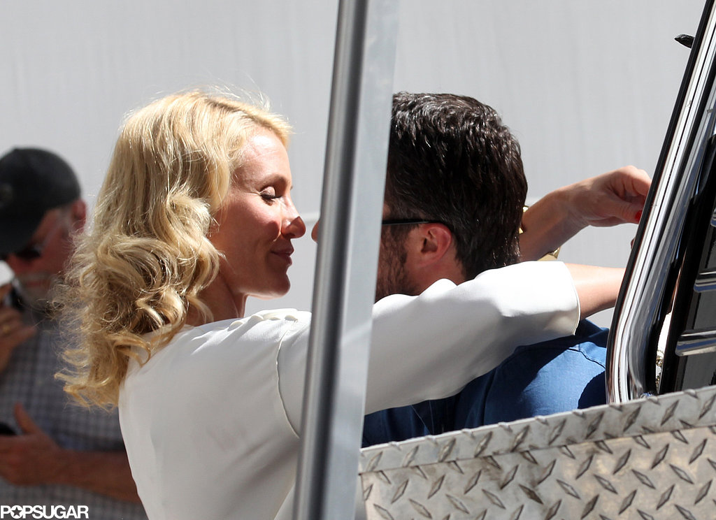 Cameron Diaz and Taylor Kinney ran a passionate scene for their film The Other Woman.