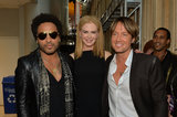 Lenny Kravitz, Nicole Kidman, and Keith Urban at the CMT Awards.