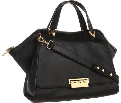 Z Spoke ZAC POSEN - Eartha Soft Double Handle Satchel (Black) - Bags and Luggage
