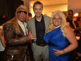 Duane Chapman and Beth Smith posed with Dax Shepard.