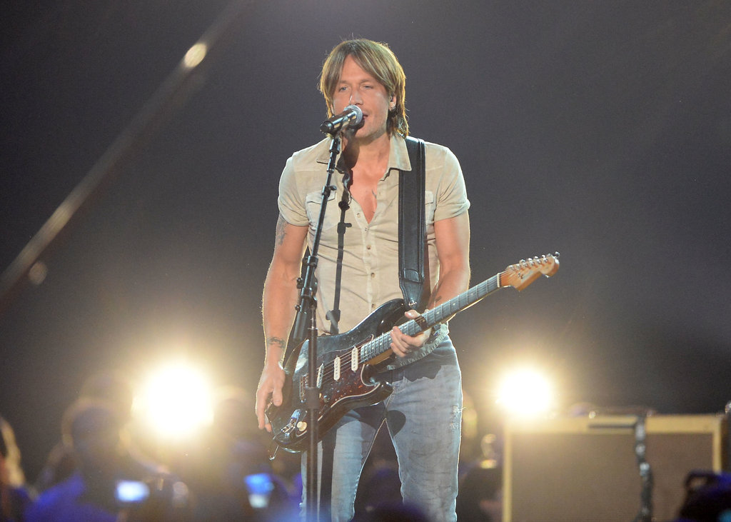 Keith Urban performed.