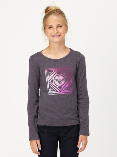 Girls 7-14 Just Chill Long Sleeve Tee