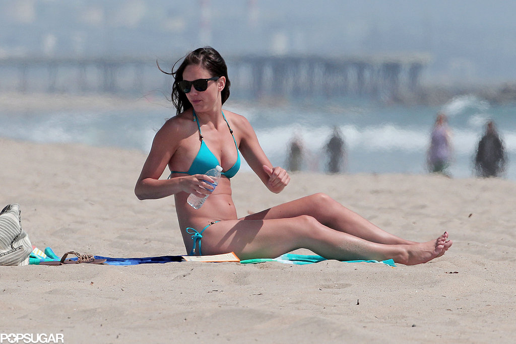 Desiree Hartsock enjoyed a sunny day in LA.