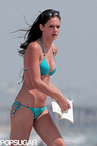 Desiree Hartsock spent time at the beach in June 2013 in LA.