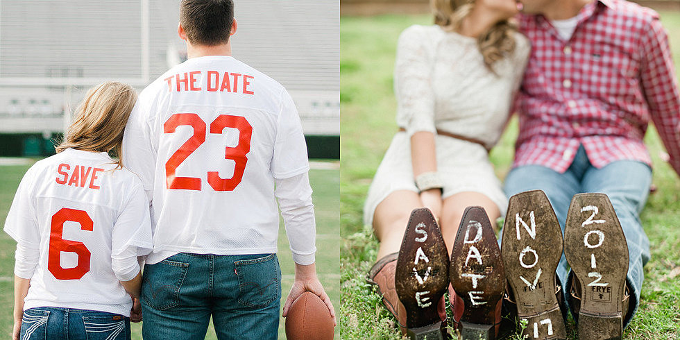 30 Ways to Save the Date With Your Engagement Shoot