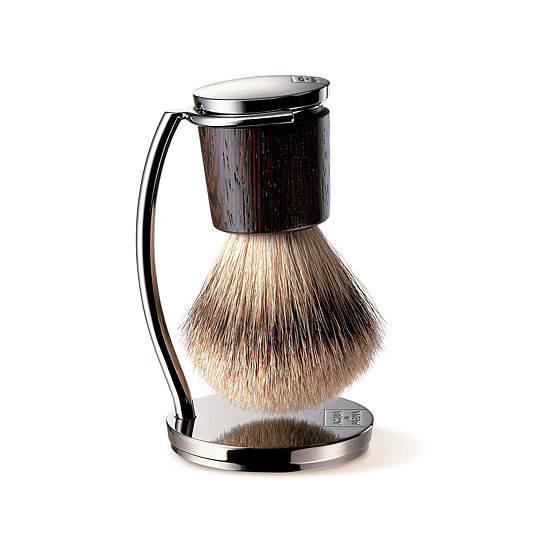 Bring the barbershop experience into your dad's personal shaving kit with this Acqua di Parma shaving brush and stand ($349) made with badger hair bristles. It's the male equivalent of the most luxurious makeup brush.