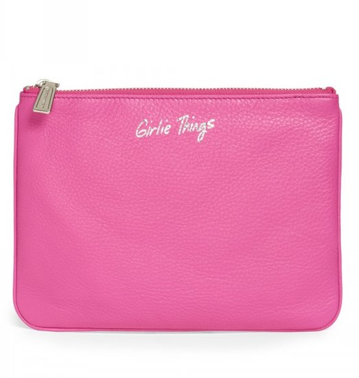 "She'll adore this Rebecca Minkoff Kerry pouch ($75) to store all of her other ""girlie things."""