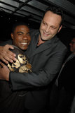 Vince Vaughn and Tracy Morgan shared a moment in 2007.
