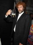 Will Ferrell enjoyed a beer backstage in 2007 at the Guys Choice Awards.