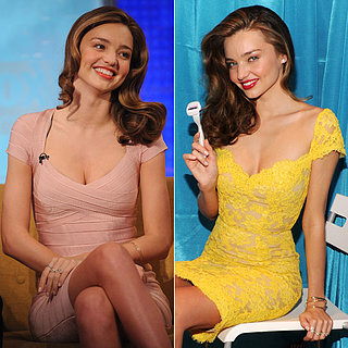 Miranda Kerr on Fox & Friends and Gillette Step Up & Out