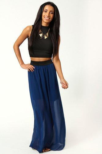 Jenna Chiffon Maxi Skirt