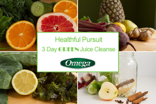 Healthful Pursuit 3-Day GREEN Juice Cleanse