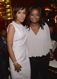 Kerry Washington and Octavia Spencer got together at the Celebrate Sundance Institute Benefit in LA.