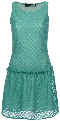 Love Moschino embroidered dress