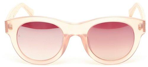 Linda Farrow Luxe Acetate and Snakeskin Sunglasses