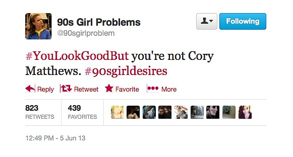 We agree wholeheartedly, @90sgirlproblem.