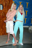 Paris Hilton took a few snaps in NYC with her wax figure back in May 2005.