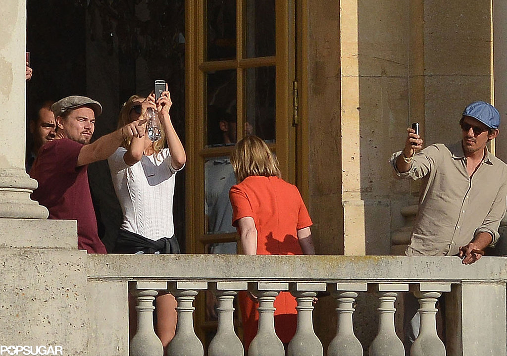 Leo Visits Versailles With His Rumored Girlfriend Toni Garrn